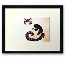 The Cheshire Effect Framed Print