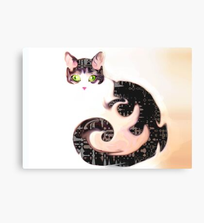 The Cheshire Effect Canvas Print