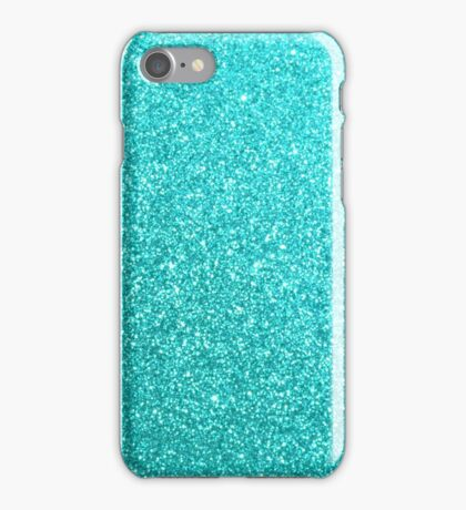 Tiffany Aqua Blue Glitter iPhone Case/Skin