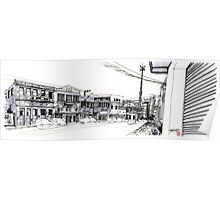 Curitiba - UrbanSketcher - Saldanha Marinho Poster