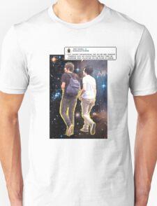 Dan and Phil galaxy + iconic tweet T-Shirt