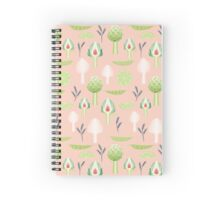 peas and artichokes Spiral Notebook
