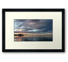 Cunningham pier Geelong Framed Print