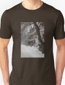 Montreal Winter Scene T-Shirt