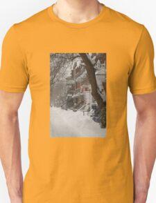 Montreal Winter Scene T-Shirt