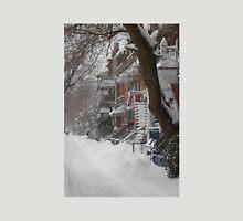Montreal Winter Scene Unisex T-Shirt