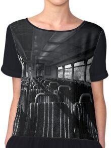 Empty Train Carriage - Mono Chiffon Top