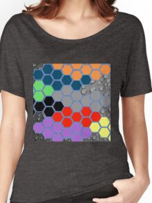 Collage of different patterns Women's Relaxed Fit T-Shirt