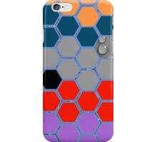 Collage of different patterns iPhone Case/Skin