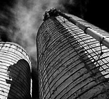 Farm Silos by cclaude
