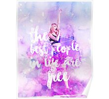 THE BEST PEOPLE IN LIFE ARE FREE Poster