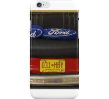 The Back-end of a Ford iPhone Case/Skin