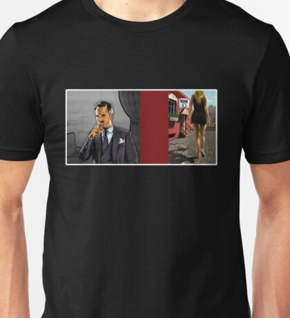 Rich Man and Girl Comic page Unisex T-Shirt