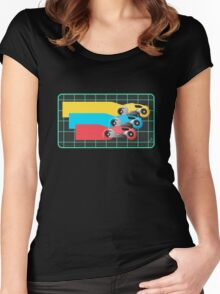 Tron Light Cycles Women's Fitted Scoop T-Shirt