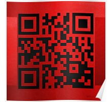 QR Codes - Code Red Poster