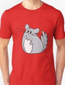 Tiny Philosopher Chinchilla Unisex T-Shirt