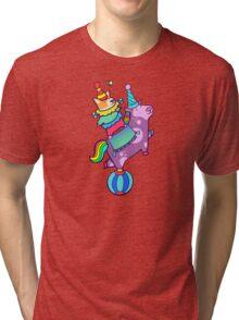 Make believe, dog n pony show! Tri-blend T-Shirt