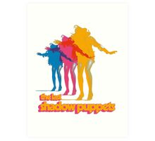 The Last Shadow Puppets Art Print