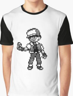 Red (Trainer) - Pokemon Red & Blue Graphic T-Shirt