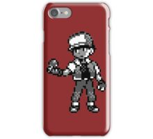Red (Trainer) - Pokemon Red & Blue iPhone Case/Skin