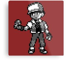 Red (Trainer) - Pokemon Red & Blue Metal Print