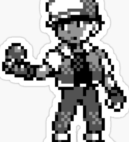 Red (Trainer) - Pokemon Red & Blue Sticker