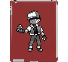 Red (Trainer) - Pokemon Red & Blue iPad Case/Skin