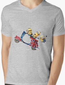 """MOD""NIONS Mens V-Neck T-Shirt"