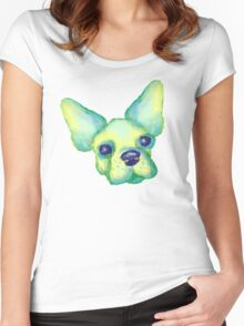 Li'l Frenchie Women's Fitted Scoop T-Shirt