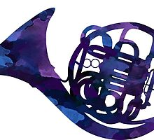 French horn by Carson Satchwell