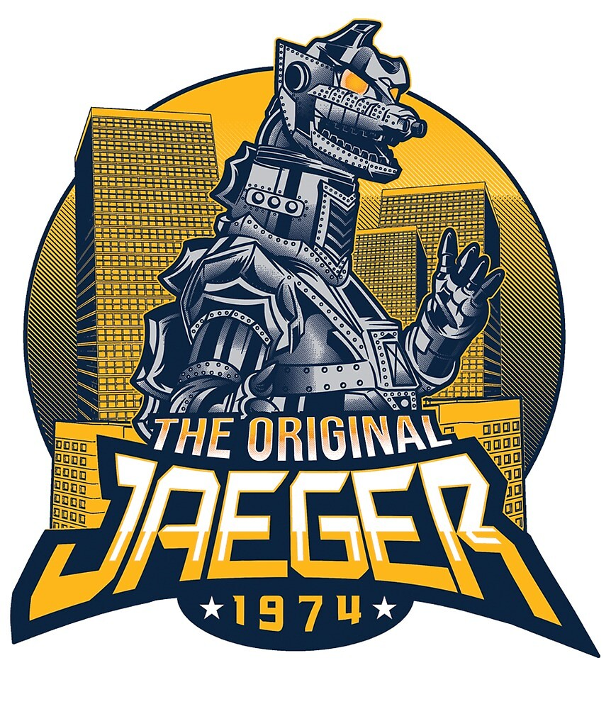 THE ORIGINAL JAEGER by onesheettees