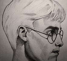 Harry Potter art by TheSociopath