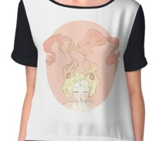 Sailor Moon Graphic Chiffon Top