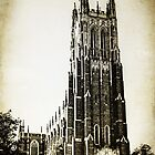 Vintage Style Duke University  by Kadwell