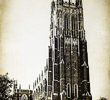 Vintage Style Duke University  by Kadwell