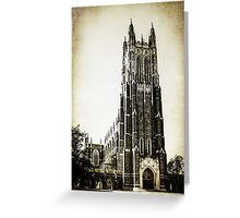 Vintage Style Duke University  Greeting Card