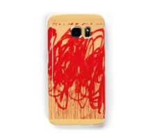 Cy Twombly UNTITLED [BACCHUS 1ST VERSION V] Samsung Galaxy Case/Skin