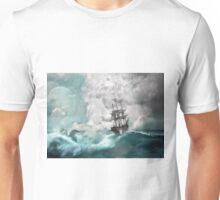 Sailing into a Storm Unisex T-Shirt