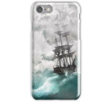 Sailing into a Storm iPhone Case/Skin