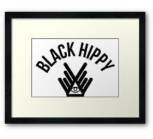 Black Hippy Framed Print