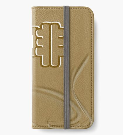 Chinese characters of COFFEE iPhone Wallet/Case/Skin