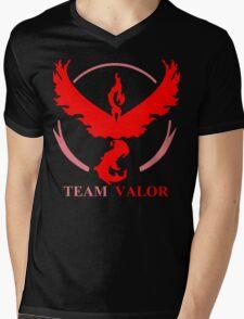 POKEMON GO TEAM VALOR, MYSTIC, INSTINCT T-SHIRT Mens V-Neck T-Shirt