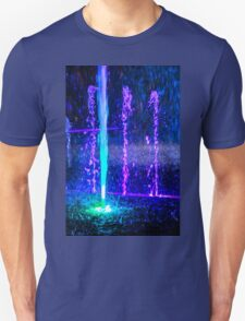 New Year fountain colours Unisex T-Shirt