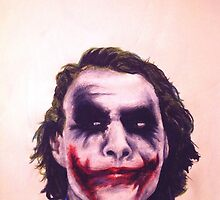 The Joker Art by TheSociopath
