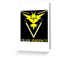 POKEMON GO TEAM INSTINCT, VALOR, MYSTIC T-SHIRT Greeting Card