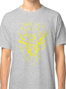 Pokemon GO Zapados Team Instinct print Classic T-Shirt