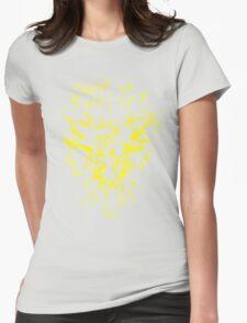 Pokemon GO Zapados Team Instinct print Womens Fitted T-Shirt