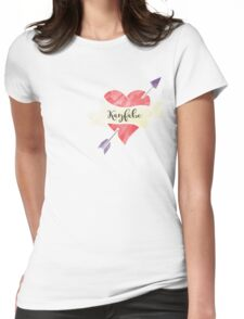 Kayfabe Womens Fitted T-Shirt