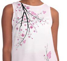 Blossom cherry Contrast Tank