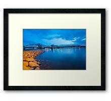 Sturgeon Bay Steel Bridge Framed Print